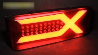 Задние тюнинг фонари ВАЗ 2109, 2114 иксы