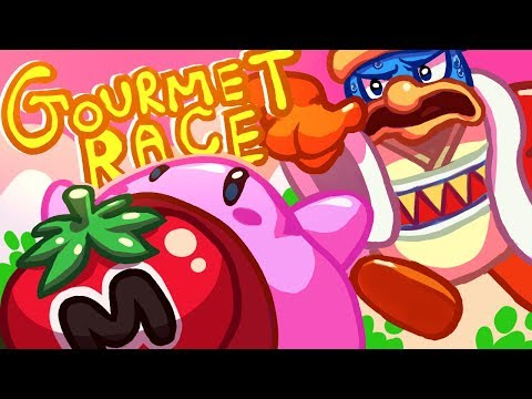 Gourmet Race WITH LYRICS (Kirby vs. Dedede!) by RecD