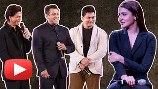 Anushka Sharma Chooses Her Favourite Khan | Salman, Aamir or Shahrukh
