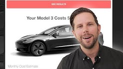 Tesla Model 3 Will Cost $900 per Month - New Survey of 100K