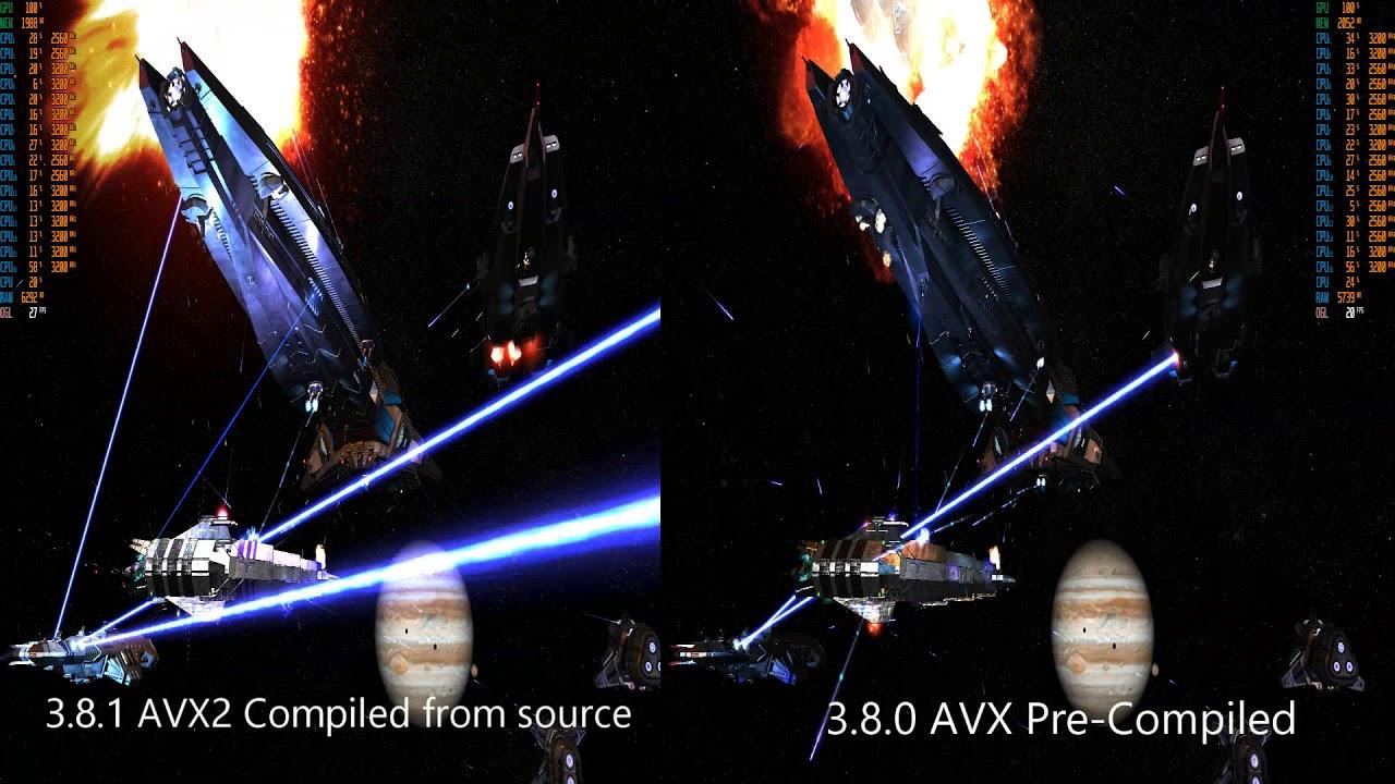 FSO, AVX vs AVX2