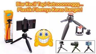 Review Alat Bantu Smartphone Mini Tripod Yunteng YT-228
