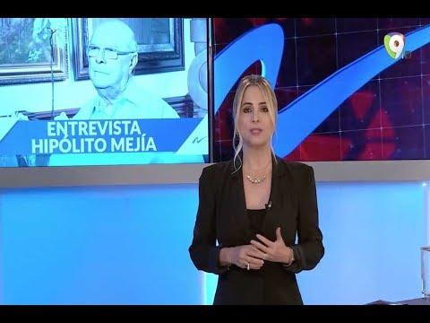 Entrevista exclusiva a Hipolito Mejía - Nuria Piera por Color Visión Canal 9 (1/3)