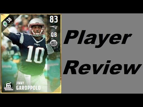 Football Outsiders Jimmy Garoppolo | Mini-Review | Madden 17 Ultimate Team Gameplay