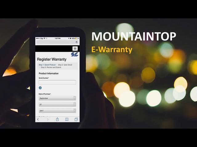 MountainTop E-Warranty By SL Information