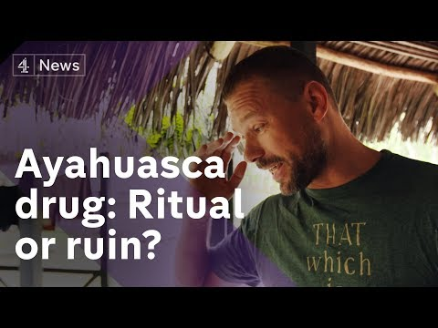 The fatal thirst for Peru's Ayahuasca drug - YouTube
