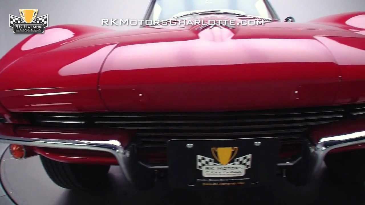 132958 1965 Chevrolet Corvette Stingray YouTube