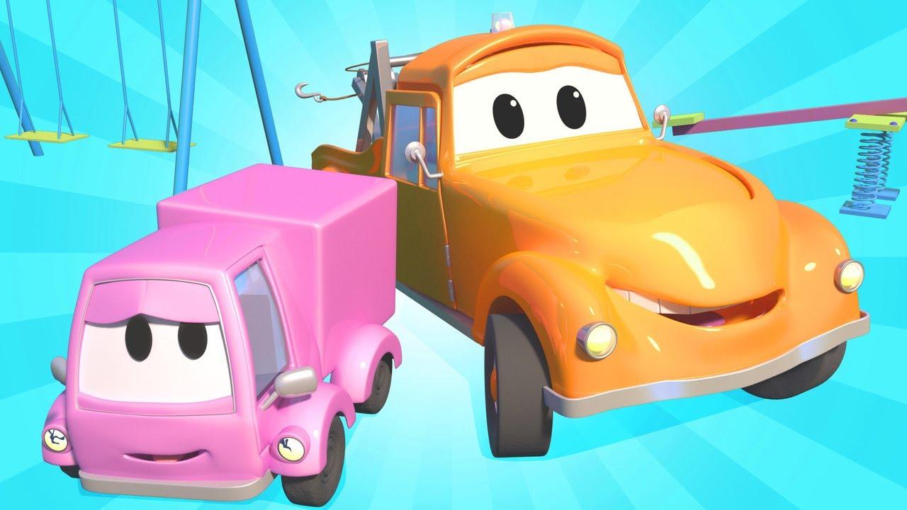 tom der abschleppwagen suzy das kleine rosa auto 3. Black Bedroom Furniture Sets. Home Design Ideas
