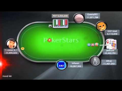 Sunday Million - 8 April 2012 . Online Poker Show - FINAL TABLE.