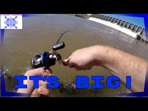 I Hooked Something BIG! | Fishing Keystone Dam
