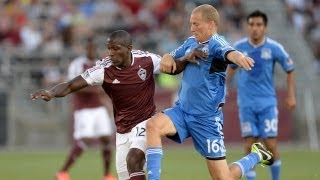 HIGHLIGHTS: Colorado Rapids vs. San Jose Earthquakes | June 15, 2013