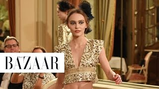 Lily-Rose Depp Just Made Her Runway Debut at Chanel