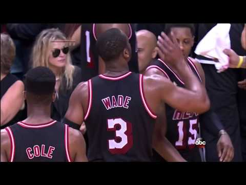 February 23, 2014 - ABC - Game 54 Miami Heat Vs Chicago Bulls - Win (40-14)(Highlights)