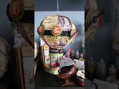 Master Detective Hot Air Balloon Mobile/Model