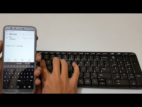 How To Connect Wireless Keyboard To Android Phone