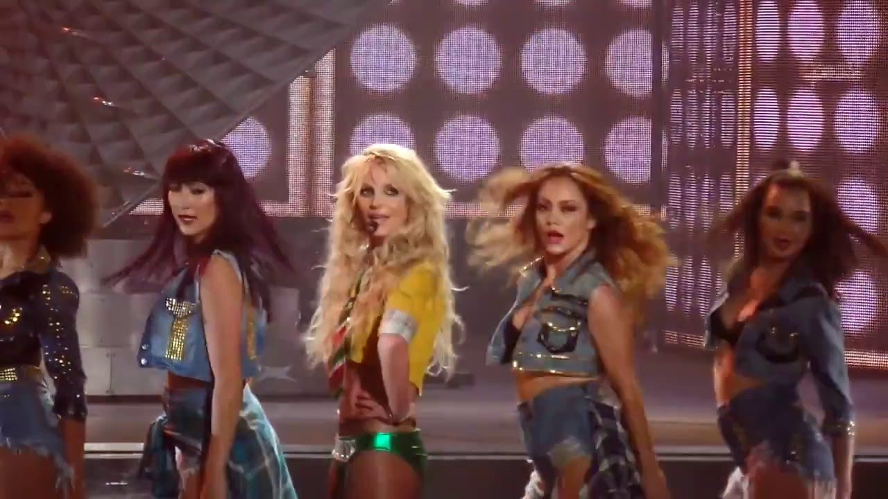 Britney Spears I love rock n roll live 8/19/17 piece of me