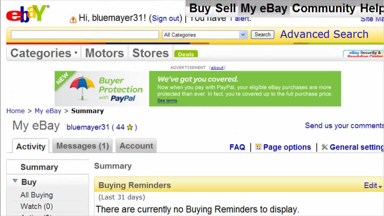 Watch Me Send An Invoice To A Customer On Ebay Ebay Video Tutorial 25 Of 34 Youtube