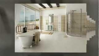 39 White Lune Vessel Sink Modern Bathroom Vanity Cabinet