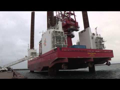 Offshore serviceskib Wind Server sluttestes i Grenaa