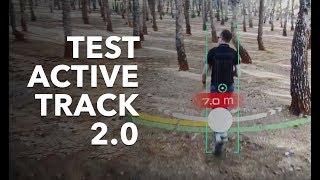 TEST ACTIVE TRACK 2.0 AVEC DJI MAVIC 2 (DANS UNE FORÊT DE PINS)