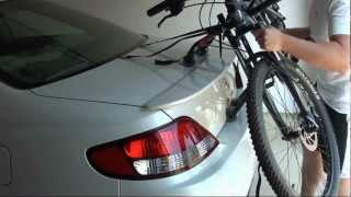 Review: Bike Rack - Allen Sports Trunk Mount 2-bikes