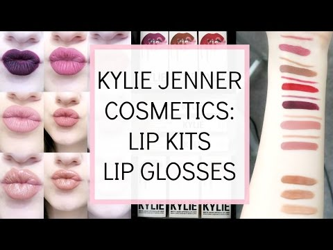 Kylie Jenner Cosmetics Lip Kit & Lip Gloss: Unboxing, First Impression & Swatches || BeautyChickee