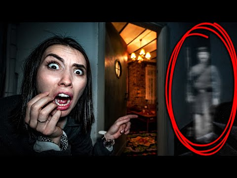 НОЧЬ В ДОМЕ С ПРИВИДЕНИЯМИ мой парень хочет снять призрак на камеру