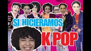 REACCIONANDO A BTS (K-Pop) - si hiciéramos KPOP