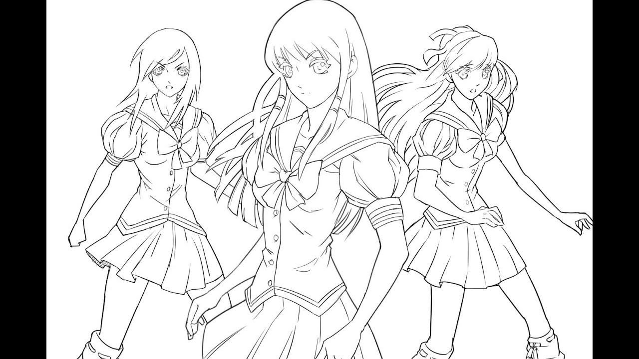 Making Of An Anime Poster! Element Princess Part 3 (continued)