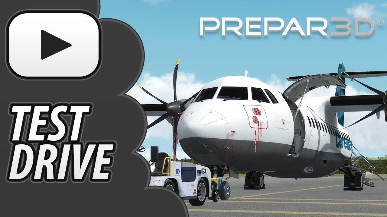Carenado A42 500 | Prepar3D V4 | Test Drive