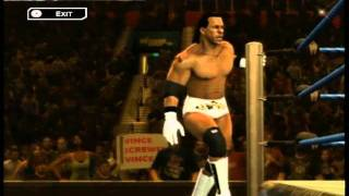 WWE SVR 2011 - Booker T Entrance