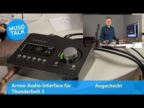 Audio Interface mit Thunderbolt 3 und DSP - UA Arrow - Angecheckt