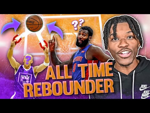 i tried to get a new all time rebounder in nba 2k21