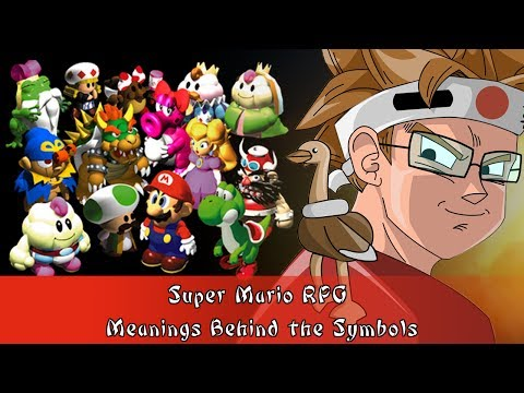 Super Mario RPG Meanings Behind the Symbols
