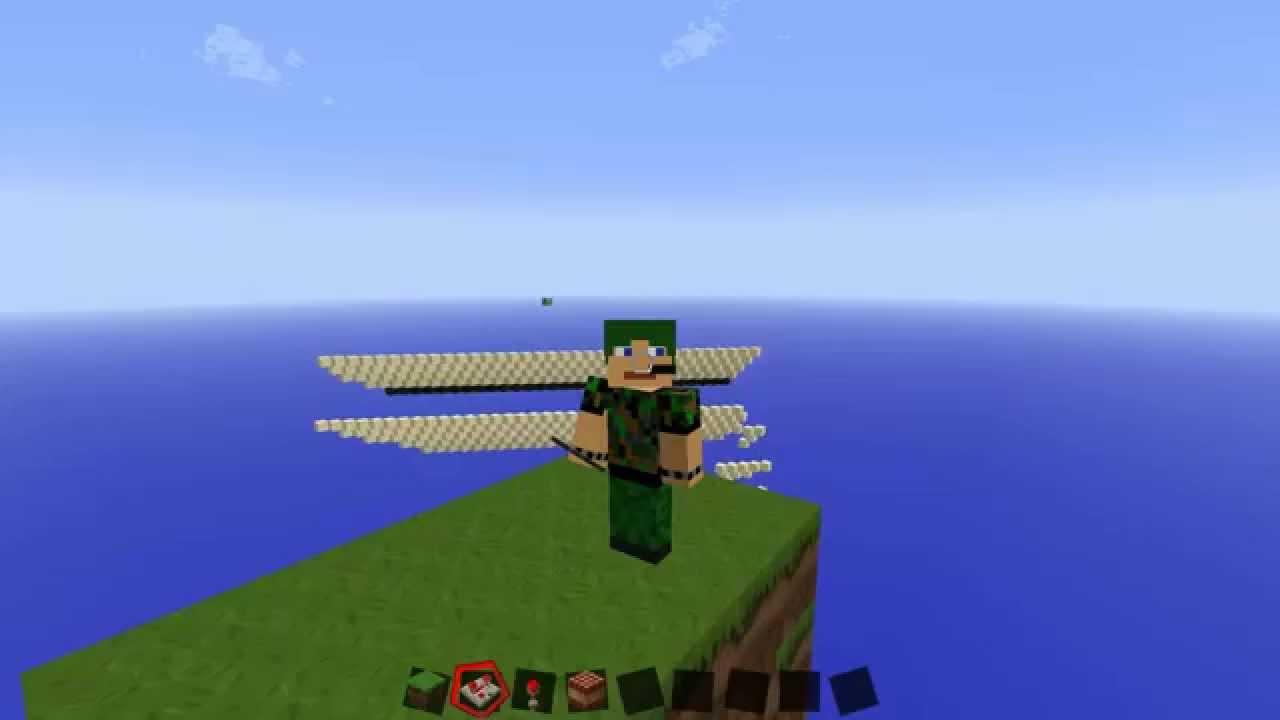 Minecraft Skyblock Welt Bauen So Geht Das HD YouTube - Minecraft dorfbewohner bauen hauser mod
