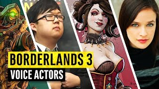 Download Borderlands 3 | The Voice Actors Behind The Characters Mp3 and Videos