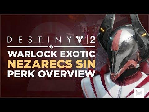 Destiny 2: Exotic Warlock Helmet 'Nezarec's Sin' Perk Overview And Gameplay