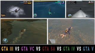 GTA III vs GTA VC vs GTA SA vs GTA IV vs GTA V Comparison
