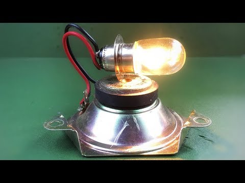 Free Energy Device Electric In Speaker Magnets
