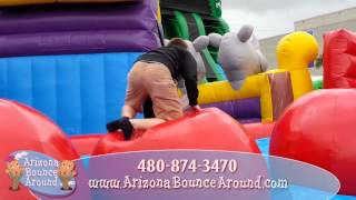 Inflatable Wipeout Big Baller Game Rental - Phoenix, Arizona, Big Baller Inflatable Rentals