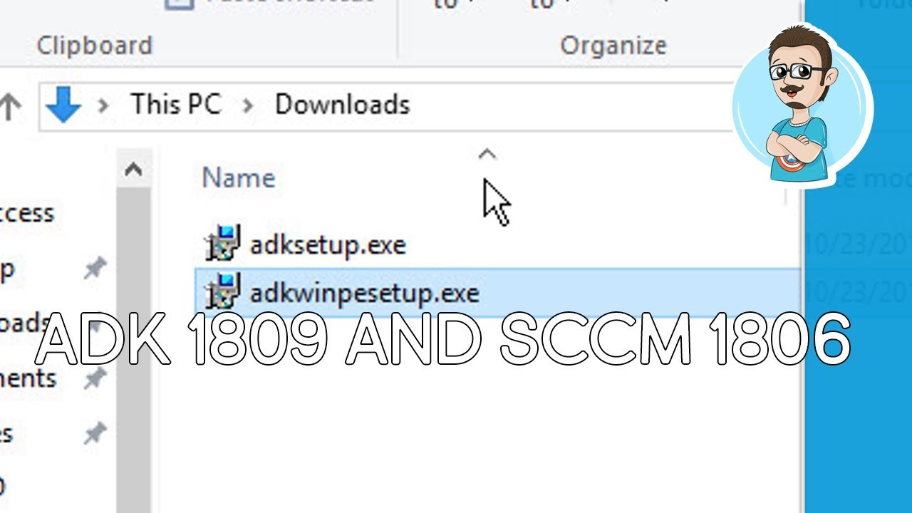 SCCM 1806 | Update Windows ADK 1809 & Boot Image!