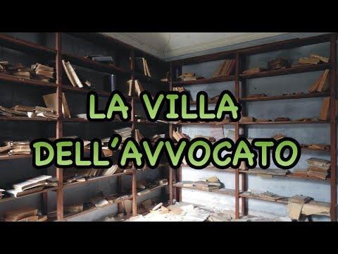LA VILLA DELL'AVVOCATO - THE LAWYER'S VILLA - URBEX LADY