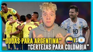 🇨🇴 COLOMBIA vs ARGENTINA 🇦🇷 ELIMINATORIAS QATAR 2022 🏆 FECHA 8 ⚽ PRONOSTICO & PREDICCION