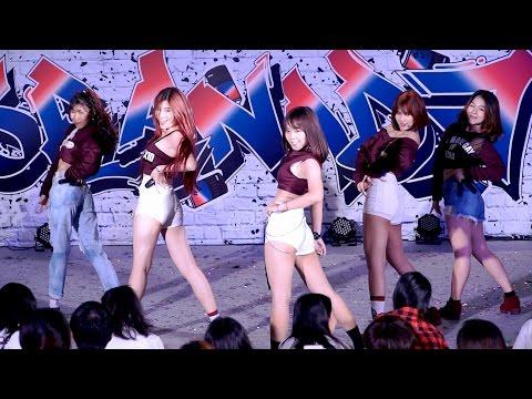 160717 Fa'Iz cover EXID - HOT PINK + L.I.E @ Esplanade Cover Dance#3 (Audition)