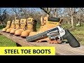 How many Steel Toe Boots does it take to stop a bullet?