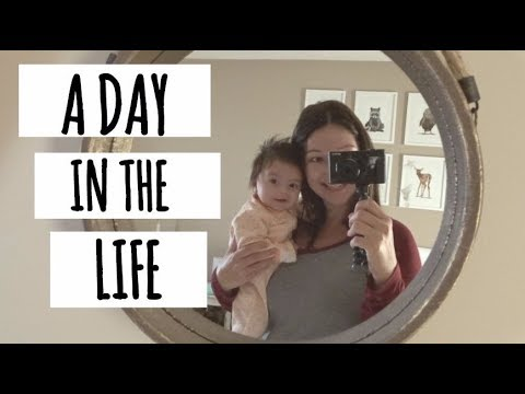 A DAY IN THE LIFE WITH BABY | FIRST TIME MOM