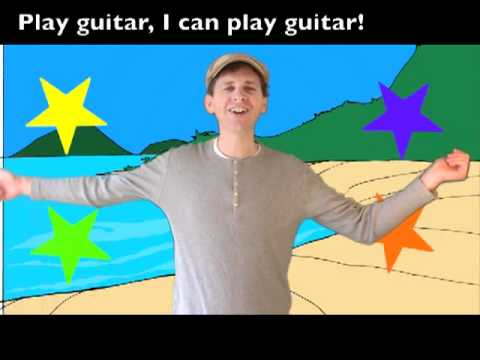 Fun ActionVerbs Song for Kids: What Can You Do?