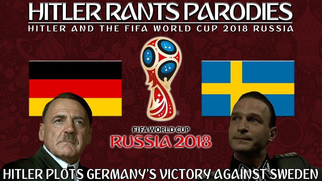 Hitler plots Germany's victory against Sweden in the World Cup