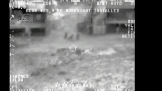 Airstrike on ISIS  - Terrorists on foot blown to bits