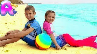 If You're Happy and You Know It | Kids Song with Mermaid from Anna Kids
